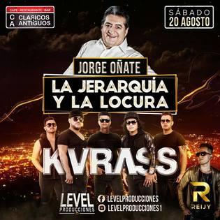 Jorge Oñate Y Kvrass Llegan A Bucaramanga