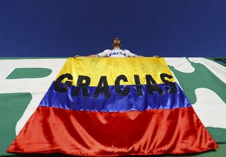 """""""Gracias Colombia"""""""
