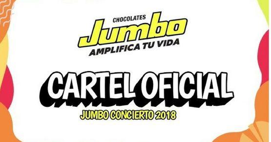 Artistas Para El Jumbo Concierto 2018