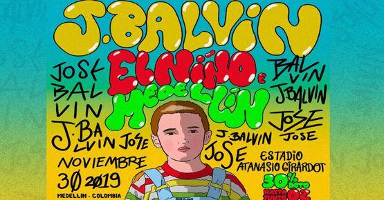 J Balvin Confirma Concierto En Medellín Para El 30 De Noviembre
