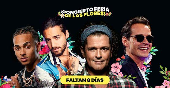 Conciertos Feria De Las Flores 2019