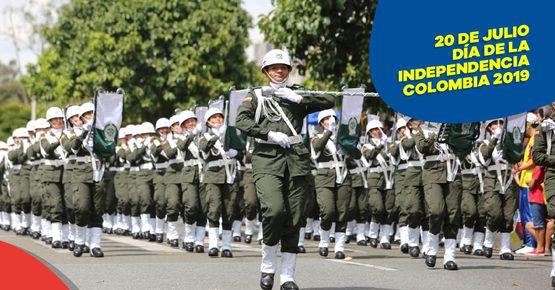 Prográmate Con El Desfile Del 20 De Julio En Bucaramanga