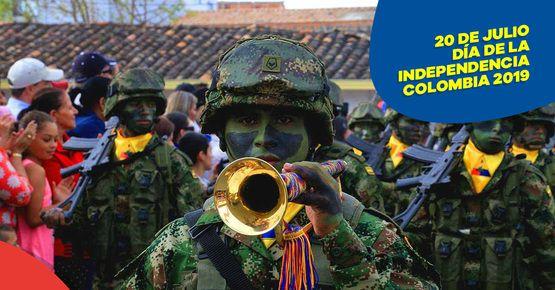 Prográmate Con El Desfile Del 20 De Julio En Medellín
