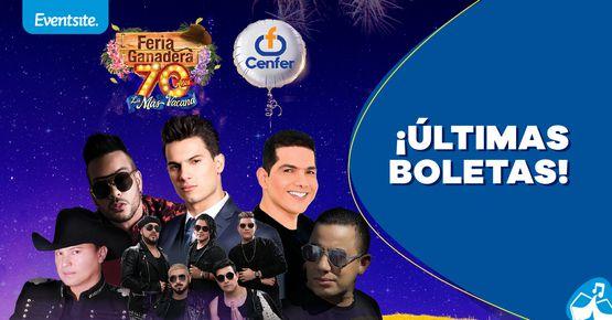 Conciertos Feria Ganadera 2019