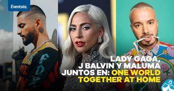 Concierto De J Balvin, Maluma  Y Lady Gaga