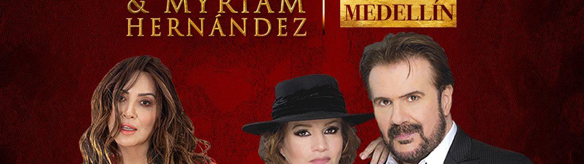 Pimpinela & Myriam Hernández En Medellín