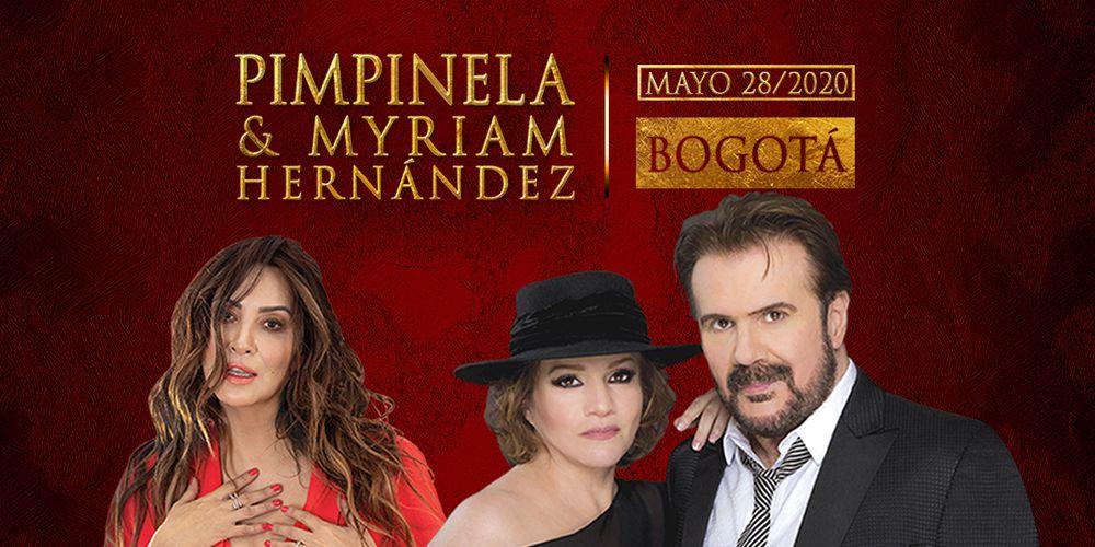 Pimpinela & Myriam Hernández En Bogotá