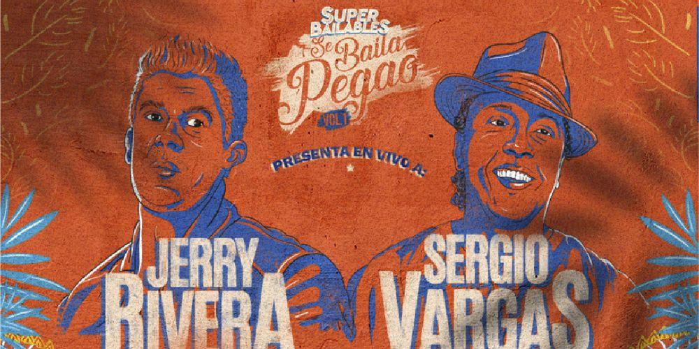Jerry Rivera Y Sergio Vargas En Vivo