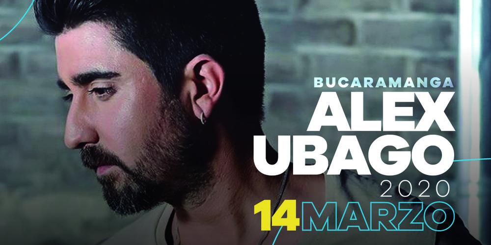 álex Ubago En Bucaramanga