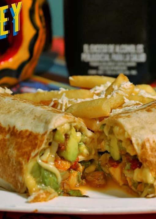 Mirrey te invita a comer Burrito Mexicano