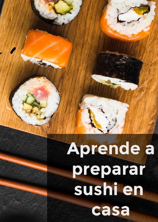 ¡Divertido, fácil y delicioso sushi casero!