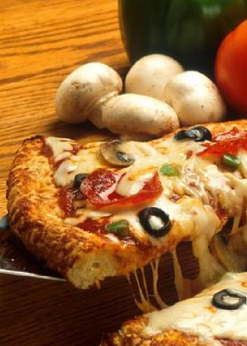 Pizza + Coctel, un buen plan en pareja.