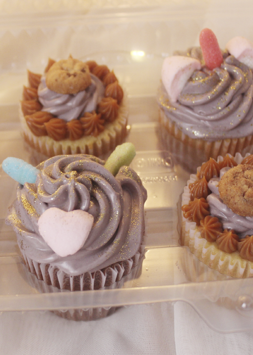 Un delicioso cupcake para chicos y grandes