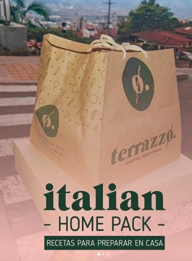 Prepara pasta italiana y comparte en casa.