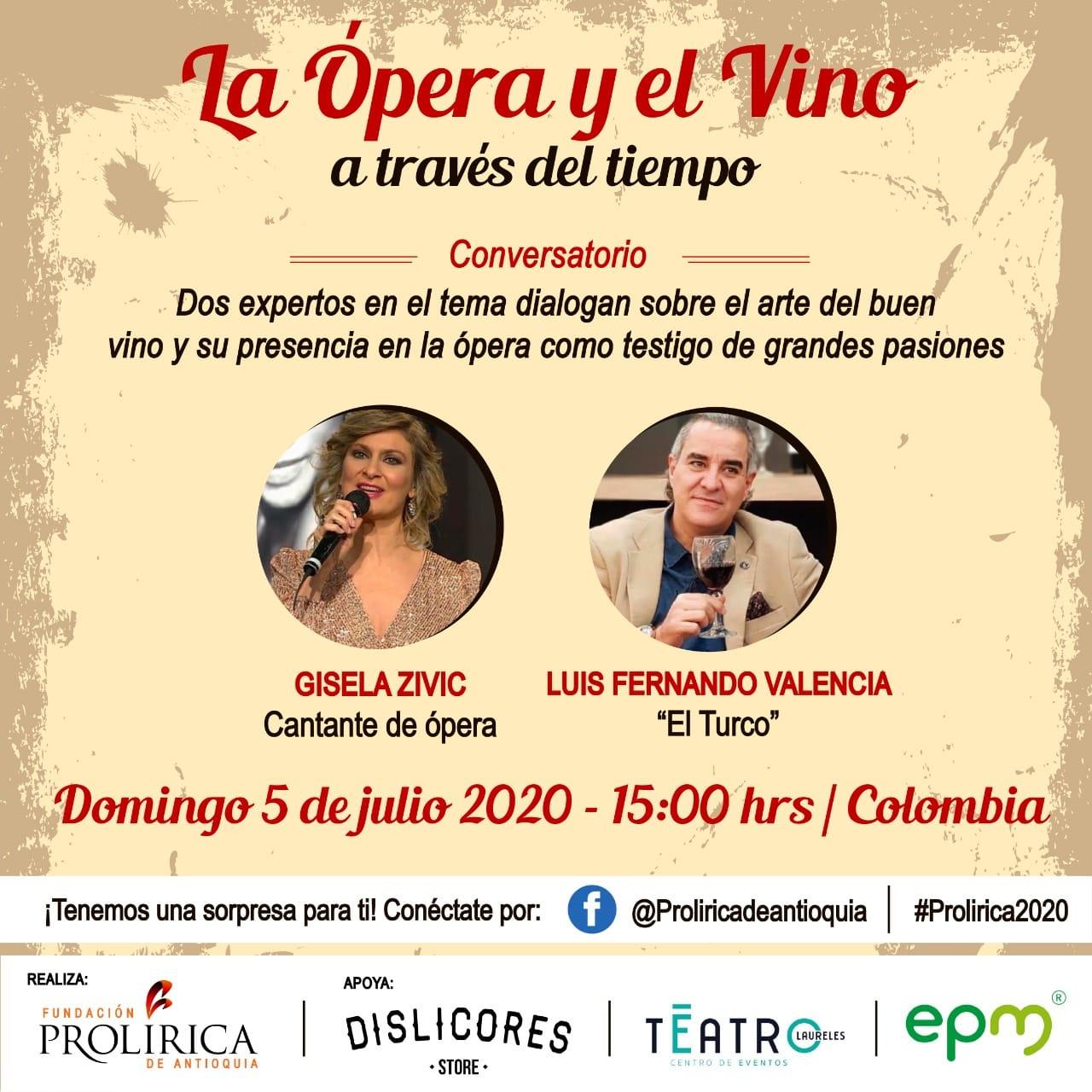 La opera y el vino